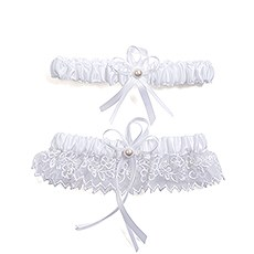 Sweet Art Bridal Garter Set