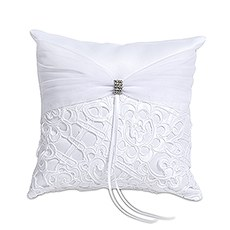 Bridal Tapestry Square Ring Pillow