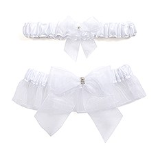 Bridal Tapestry Garter Set