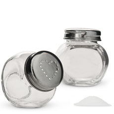 Mini Candy Jar Salt and Pepper Shaker Favor