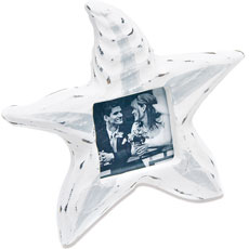 Small Wooden Starfish Photo Frame Favor and Place Card Holder (8)