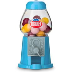 Mini Classic Blue Gumball Dispenser