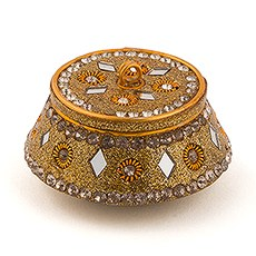 Moroccan Style Gold Favor Box Place Card Holder (4)