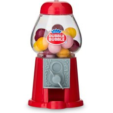 Mini Classic Red Gumball Dispenser