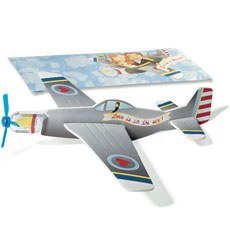 "Mini Airplane Glider Favors ""Love is in the Air"" (12)"
