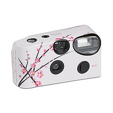 Disposable Camera with Flash – Cherry Blossom