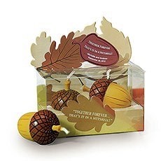 Together Forever - Mini Acorn Candles