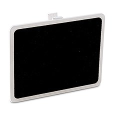 Wooden Black Board with Clip with White Wash Finish (6)