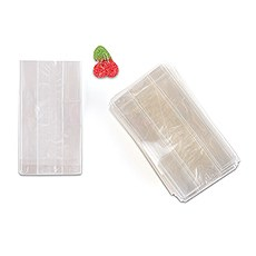 Clear Flat Bottom Gusset Cello Candy Bag