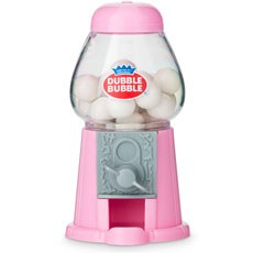 Mini Classic Pink Gumball Dispenser