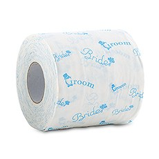 Bride And Groom Wedding Toilet Paper (2)