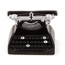 Vintage Typewriter Card Holder
