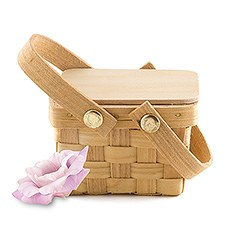 Miniature Picnic Basket Favor (6)