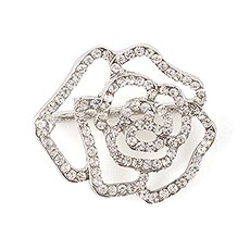 Crystal Rose Buckle