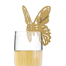Laser Expressions Butterfly Die Cut Card Shimmer Paper (12)