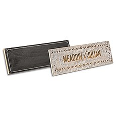 Free Spirit Personalized Wooden Multi-Purpose Sign Boards