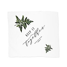 Personalized White Pocket Handkerchief - Keep It Together