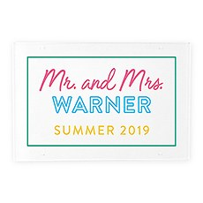 Large Acrylic Sign Board - Summer Vibes Printing