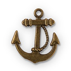Boat Anchor Charm (12)