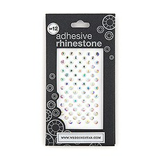 "Premium Jewels With Adhesive Backing (3mm - 1/16"")"