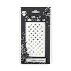"Premium Jewels With Adhesive Backing (4mm - 1/8"")"