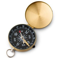 Gold Compass Wedding Favor (6)
