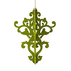 Decorative Artificial Moss Chandelier - Large