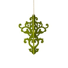 Decorative Artificial Moss Chandelier - Small