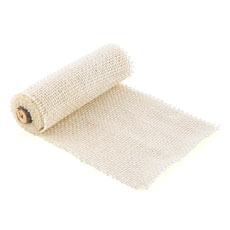 Burlap Wrap by the Roll - Wide Ivory