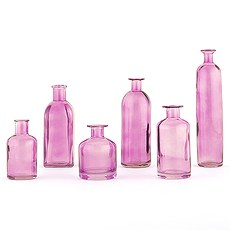 Decorating Glass Bottle Set - Purple