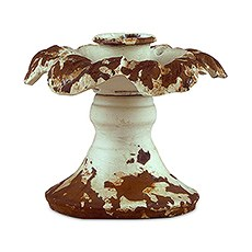 Vintage Inspired Iron Taper Candle Holder