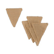 Natural Burlap DIY Pennants/Flags