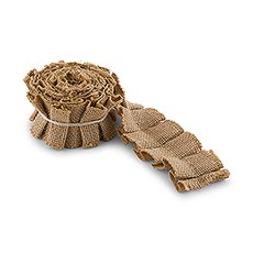 Ruffled Jute Ribbon Trim