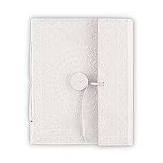 Leather Bound Journal Bohemian Style Guest Book