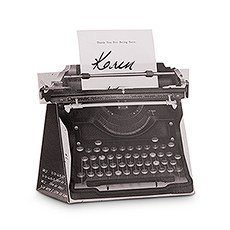 Vintage Inspired Typewriter Favor Box Kit (10)