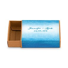 Kraft Drawer-Style Favour Box With Aqueous Wrap (8)