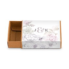 Kraft Drawer-Style Favour Box with Floral Dreams Wrap (8)