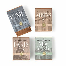 Kraft Drawer-Style Favor Boxes with Destination City Names (8)