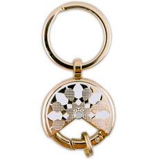 Gold Dream Catcher Keychain Wedding Favour (6)