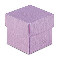 Lavender Favor Box with Lid