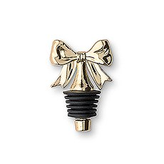Dainty Gold Bow Bottle Stopper (6)