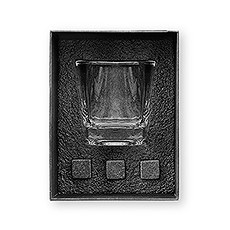 Square 8 oz. Whiskey Glass Gift Box Set
