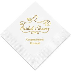 Bridal Shower Paper Napkins