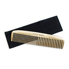 """Fine and Dandy"" Brass Comb"
