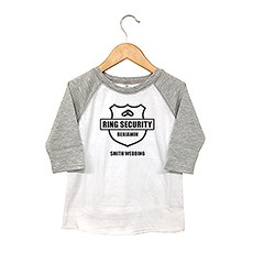 Personalized Kid's T-Shirt - Ring Security