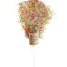 Eco-Friendly Push-Pop Confetti - Multi-color