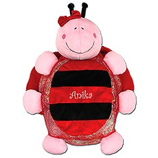 Plush Toddler Backpack - Lady Bug