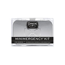 Groom Minimergency Kit - Silver Tin