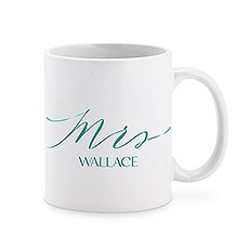 Personalized Coffee Mug - Mrs