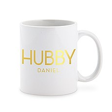 Personalized Coffee Mug - Hubby